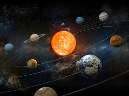 Journey through the solar system - PLANETS/HOME